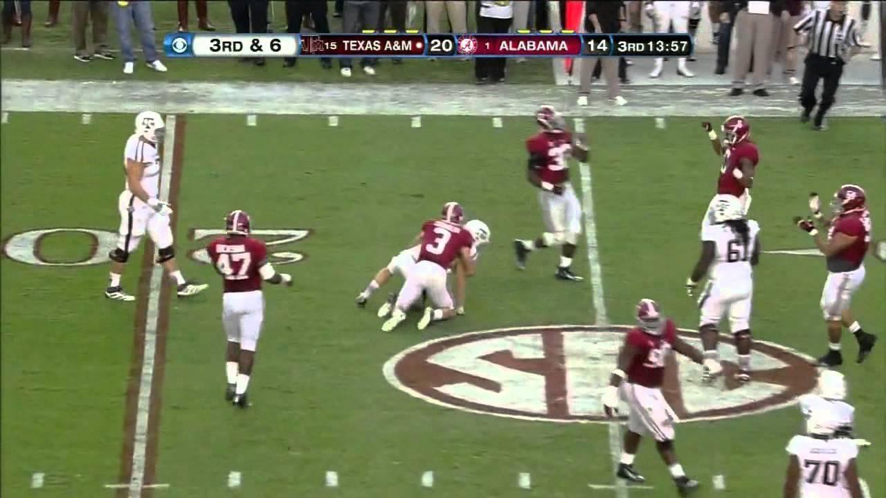 Ryan Swope vs Alabama (2012)