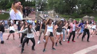 Video Kayla and Krys Surprise Flash Mob Proposal in Bethesda Fountain, New York City MP3, 3GP, MP4, WEBM, AVI, FLV Agustus 2018