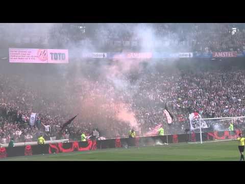38 supporters opgepakt voor rellen Ajax en PEC Zwolle