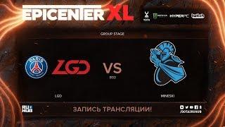LGD vs Mineski, EPICENTER XL, game 3 [Maelstorm, Jam]