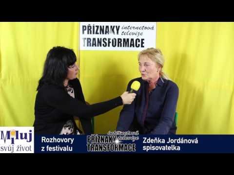 Zdeňka Jordánová rozhovor z festivalu Miluj svůj život
