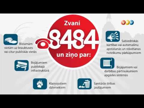 Valmieriešiem pieejams bezmaksas atbalsta tālrunis 8484