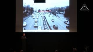 Speech Toma Dryjski - Project Footbridge over the périphérique | Archmarathon 2016