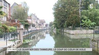 Dole France  city images : SUIVEZ LE GUIDE : Le quartier des tanneurs, le coup de coeur de Dole