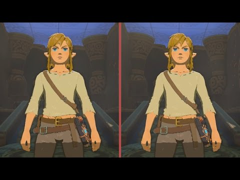 Zelda: Breath of the Wild Final Graphics Comparison - Wii U vs. Nintendo Switch