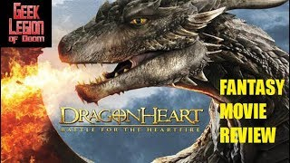 Nonton DRAGONHEART 4 : BATTLE FOR THE HEARTFIRE ( 2017 Patrick Stewart ) Fantasy Movie Review Film Subtitle Indonesia Streaming Movie Download