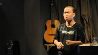 Dua Leo dien stand up comedy - hai doc thoai ngay 6 thang 6 at Lít cafe - phần 2