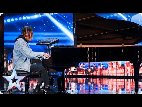 Tokio Myers tinkles the ivories with an edgy twist | Auditions Week 3 | Britain's Got Talent 2017 (видео)