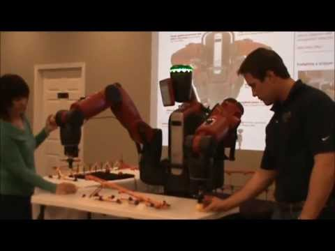 robotics - Baxter from Rethink Robotics is presented and demonstrated at Advanced Control Solutions in Marietta GA. The audience of this presentation was the Atlanta Ho...