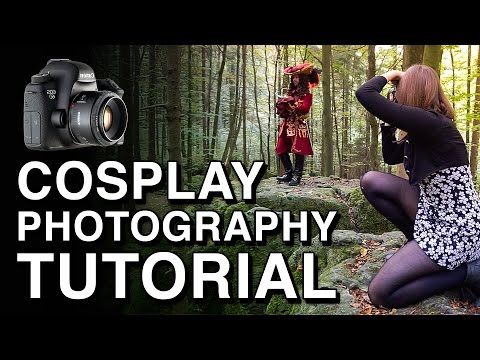 Basic Cosplay Photography Tutorial