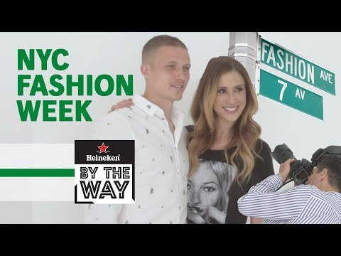 Video: Footballers on the Fashion Week Catwalk - What Could Go Wrong?