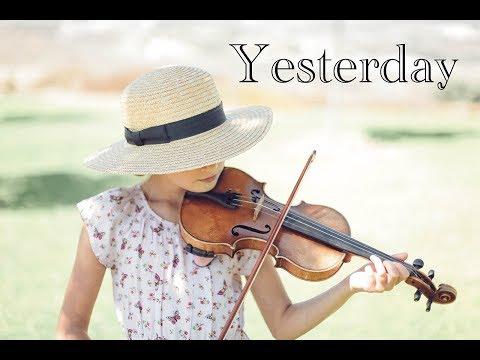 Yesterday - Karolina Protsenko - Beatles - Violin Cover