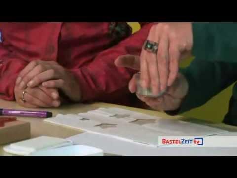 Bastelzeit TV 22 - Luminaria Lichttüte gestalten - Teil 2