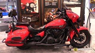 10. 2015 Yamaha V-Star 1300 Deluxe - Walkaround - 2014 New York Motorcycle Show