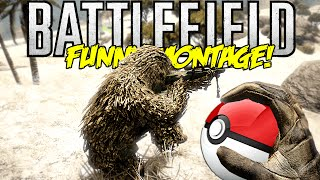 Battlefield BC2 Funny Montage! Pokemon Kill, Trolling Snipers & More (BF Funny Moments)