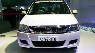 The all-electric version of the Mahindra Verito has been launched starting at Rs.9.5 lakhs. Named eVerito, this all-electric car is Mahindra's second in India after the Reva e2o. The eVerito has been launched at three trim levels – The base D2, mid-level D4 and the top-end D6. The all-electric powertrain of the eVerito packs a peak output of 41.4HP and a peak torque of 91Nm with a maximum range of 110km. But when it comes to speed, the sedan only achieves a top speed of 86kmph which is pretty paltry compared to what we see in other cars these days. The electric engine is mated to a 72V lithium-ion battery which takes 8 hours 45 minutes to be fully charged from a standard 230V 15A outlet. The top-end D6 variant comes with a quick charge mode which takes 1 hour 45 minutes to fill 80 percent capacity of the battery. As per Mahindra, running cost of the electric car is extremely low. It is in fact as low as Rs.1.5 per kilometre.