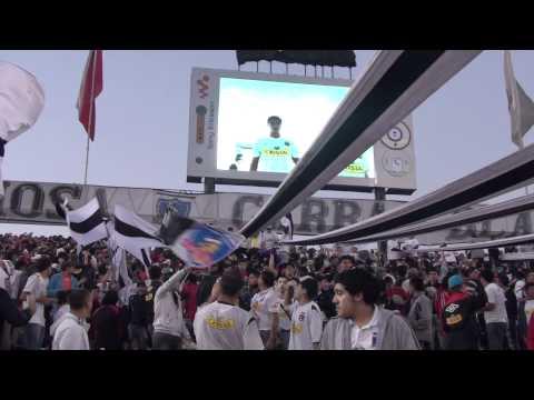 """Colo Colo - Cerro Porteño """"Salida"""" - Garra Blanca - Colo-Colo"""