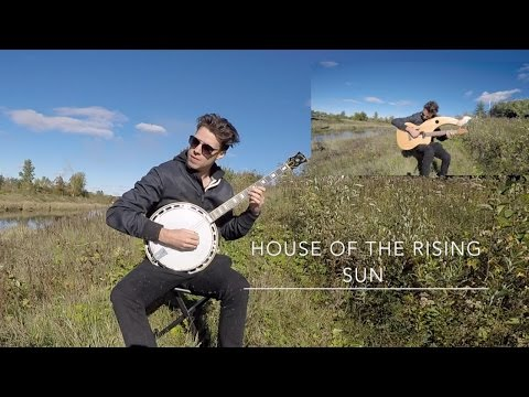 , title : 'House of the Rising Sun - Harp Guitar/Banjo vs. Electric Cover'