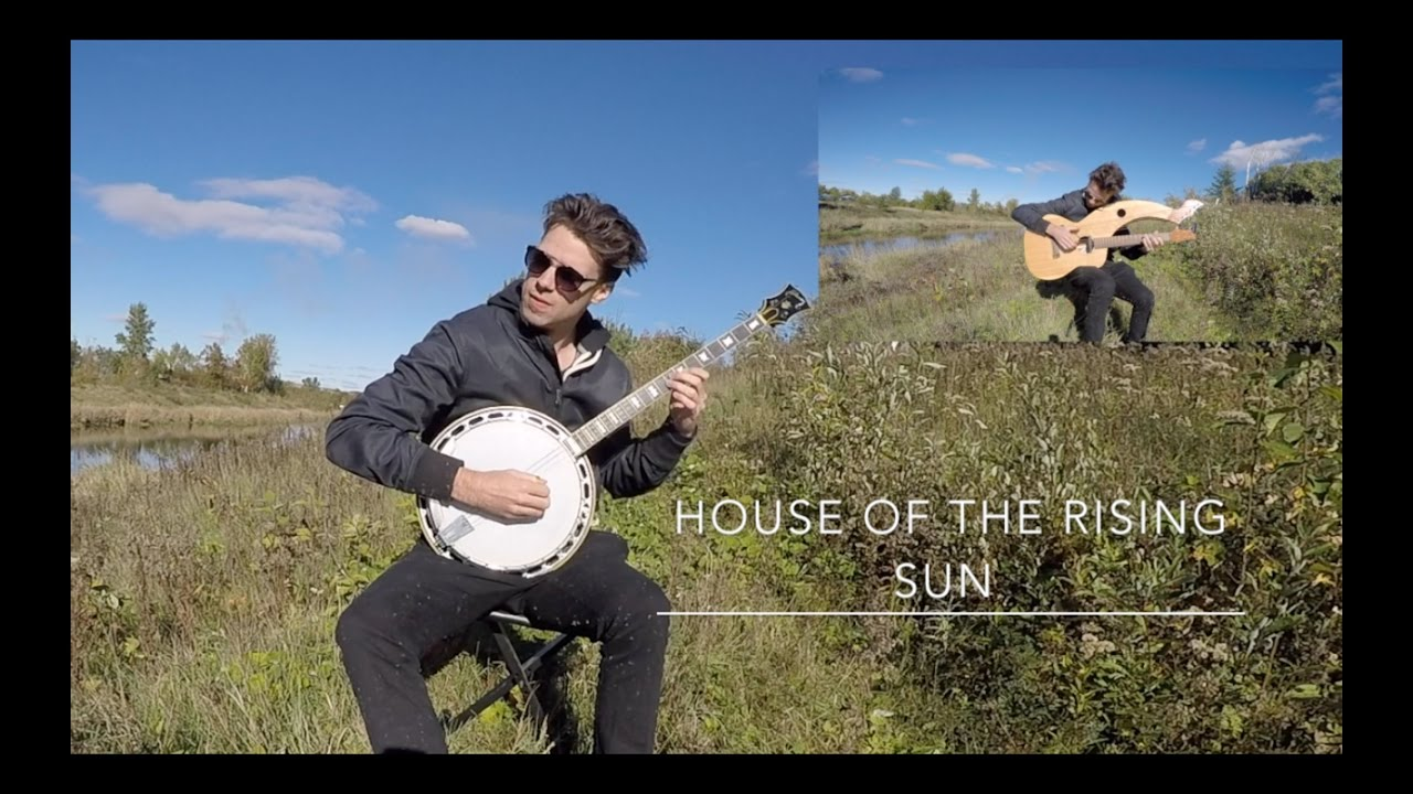 House of the Rising Sun – Harp Guitar/Banjo vs. Electric Cover