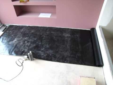 Parozábrana pro plovoucí podlahy - 2. díl