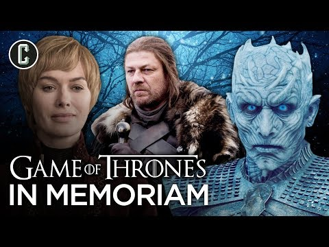 Game of Thrones: Every Character That Died Throughout the Show