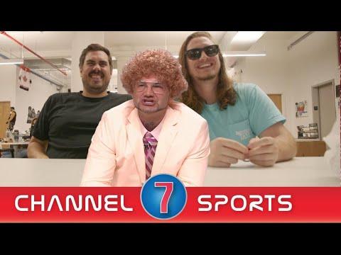Chuck Borden More Sports At 7 Invades Barstool HQ