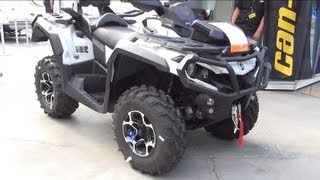 8. BRP Can-Am Outlander LIM 1000 Exterior and Interior in Full 3D HD