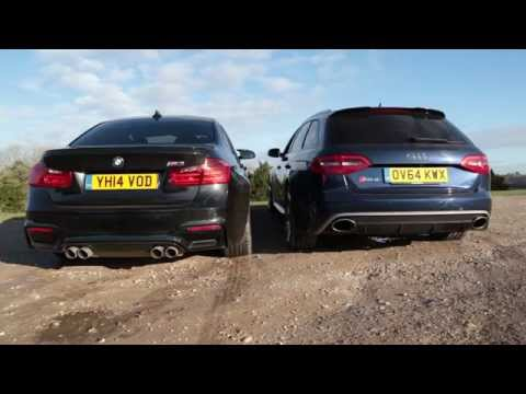 bmw m3 vs audi rs4. due bolidi a confronto!!!