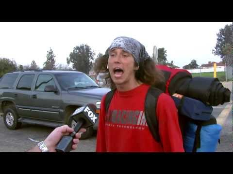Hatchet Wielding Hitchhiker Saves the Day