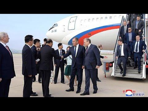 Sergej Lawrow, russischer Außenminister, besucht Pjön ...