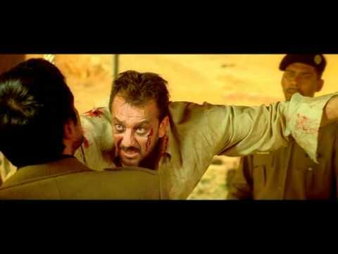 Indian Movie - Deewaar - Drama Scene - Amitabh Bachchan - Sanjay Dutt - Sohail Tortures Khan