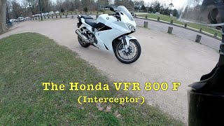 2. Test Riding the Honda VFR 800 F / Interceptor