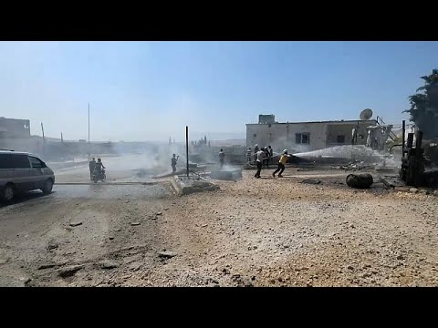 Κρίσιμα 24ωρα μετά τις επιδρομές στην επαρχία Ιντλίμπ