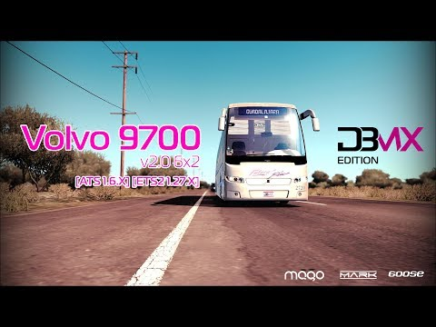 Volvo 9700 Luxury 6x4 v2.0