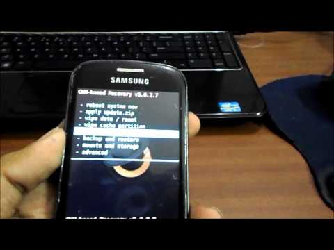 how to install cwm recovery on galaxy fit