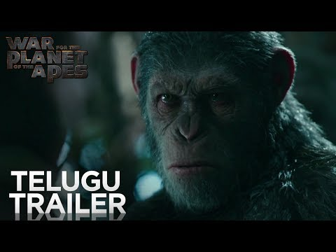 War for the Planet of the Apes | Official Telugu Trailer | Fox Star India | July 14