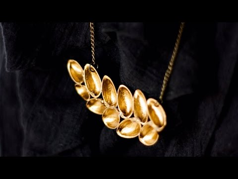 collana realizzata a mano