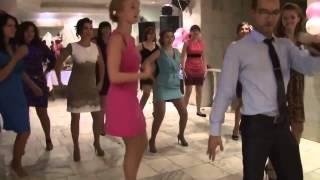 бесшабашные танцуют на свадьбе!!!)) Ляпы и приколы на свадьбе!!! Октябрь 2013)))