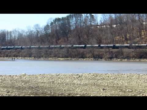 Oil transport in the Mohawk Watershed (NY)