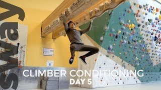 10 Minute Workout For Climbers   Day 5   Climb With Sway by  WeDefy