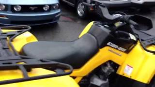 7. 2011 Can Am Outlander 650 $8995