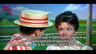 "Video Mary Poppins (1964) - ""Supercalifragilisticexpialidocious"" - Video/Lyrics MP3, 3GP, MP4, WEBM, AVI, FLV Agustus 2018"