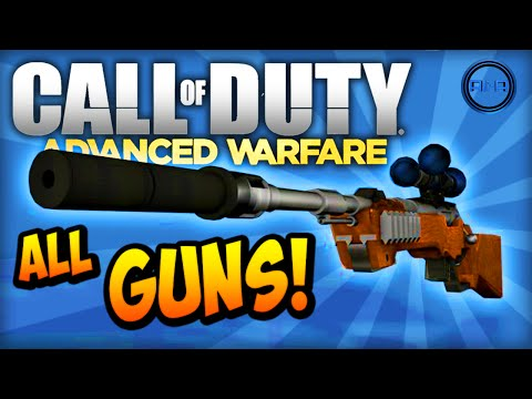 Info - ALL GUNS & MORE for Call of Duty: Advanced Warfare! ▻ GUN IMAGES - http://facebook.com/AliAarmy Not long now until Call of Duty: Advanced Warfare launches and leaked images are popping...