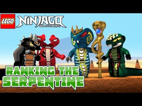 Ninjago: Ranking The Serpentine Tribes