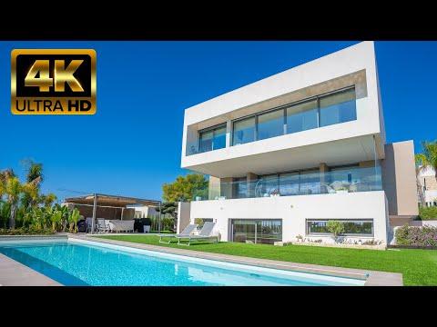 1450000 € Luxurious new villa with sea views in Sierra Cortina (Finestrat Benidorm) High-Tech