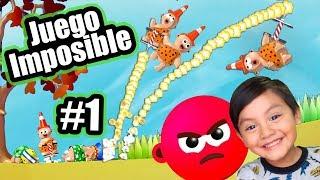 El Juego Imposible | Saltando y Jugando | Juegos Karim Juega