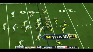 Junior Hemingway vs Notre Dame & Northwestern 2011