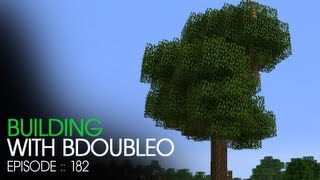 Minecraft Building with BdoubleO - Episode 182 - The Tree of Good and Evil