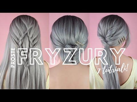 Proste fryzury - 7 łatwych fryzur krok po kroku