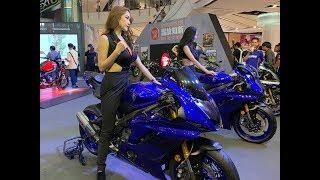 9. 2019 Yamaha YZF R6 Akrapovic exhaust Bangkok Motorbike Festival Thailand